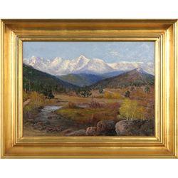 Richard Tallant, oil on canvas