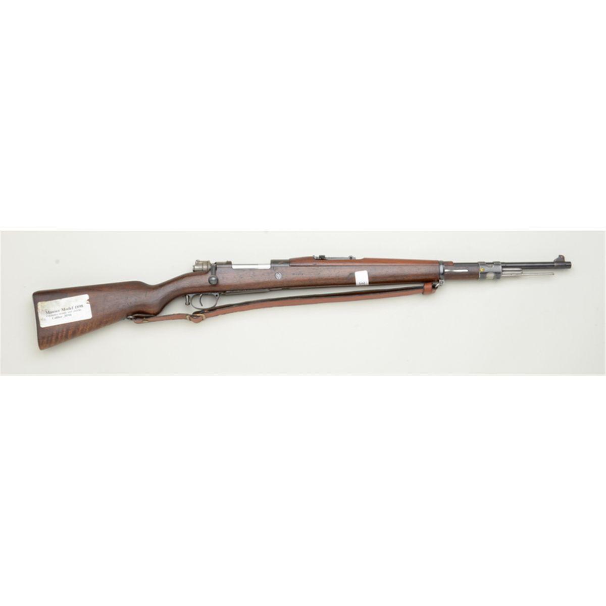 Mauser Model 98 bolt-action rifle, Columbian Crest,  30-06 cal