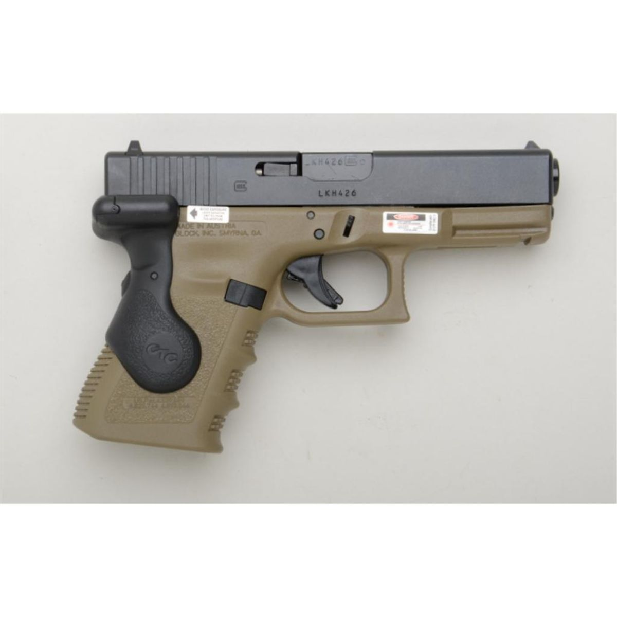 Glock Model 10 .10 caliber S&W compact size, laser sight, with