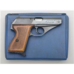 """Mauser Model HSc DA semi-auto pistol,  German-made for Interarms, .380 cal., 3-1/4""""  barrel, black f"""