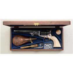 """Modern Italian copy of a Colt Model 1851 Navy  percussion revolver, .36 cal., 7-1/2""""  octagon barrel"""