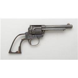 """Copy of a Colt revolver, .38 S&W Special  cal., 5"""" barrel, blue finish, #1234. This is  a parts gun"""
