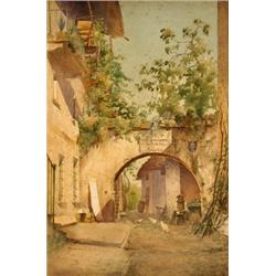 Robert Lightbody (fl. 1888), The Courtyard...