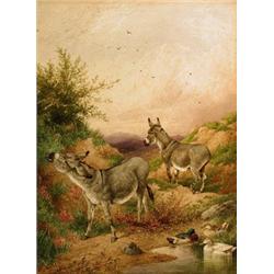 Charles Edward Brittan (1837-1888), Two Do...