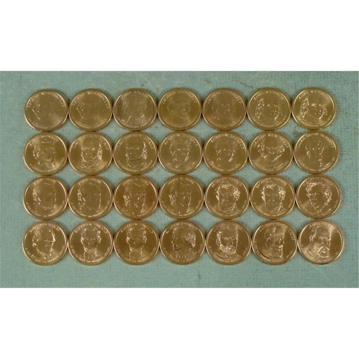 2007-2011 D  ANY FOUR 4 PRESIDENT DOLLARS YOU PICK