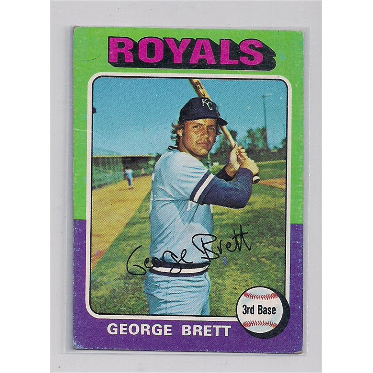 1975 Topps George Brett Rookie Card 228