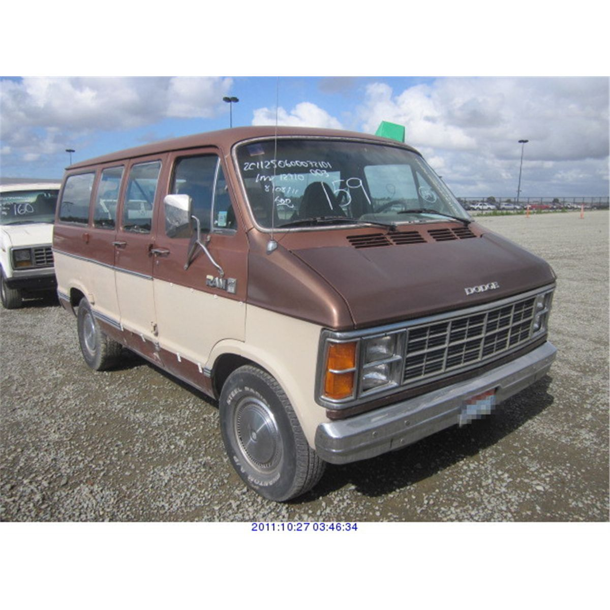 1984 Dodge Ram Van Rod Robertson Enterprises Inc