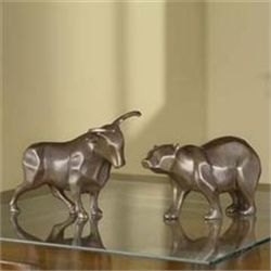 Bull & Bear Sculptures