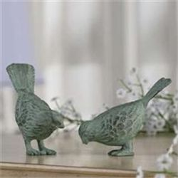 Set Bird Sculptures