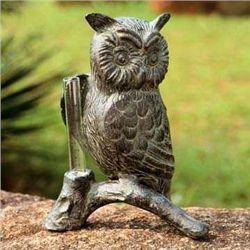 Owl Rain Gauge