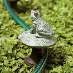 Frog On Mushroom Hose Guard