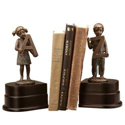 """Girl And Boy """"A To Z"""" Bookends"""