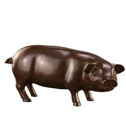 Shy Pig Piggy Bank