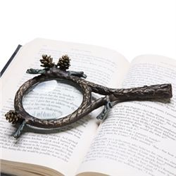 Pinecone Magnifying Glass