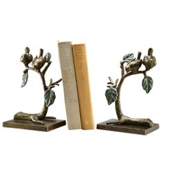 Birds & Branches Bookends