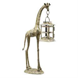 Giraffe Lantern Candleholder