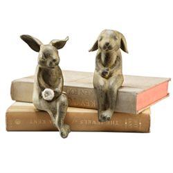 Bunny Lovers Shelf Sitters