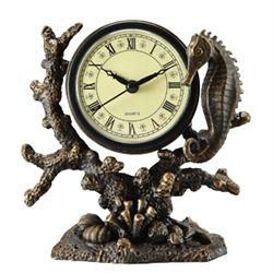 Seahorse Table Clock