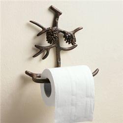 Pine Cone Toilet Paper Holder