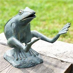 Leaping Garden Frog