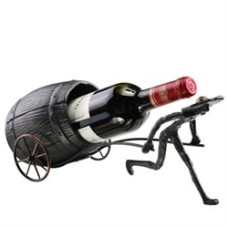 Man & Barrel Wine Bottle Holder