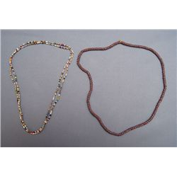 2 STANDS OF TRADE BEADS