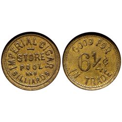 AK - Juneau,c1908 - Imperial Cigar Store Token