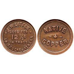 AK - La Touche,c1908 - Little, J W Saloon - Native Copper