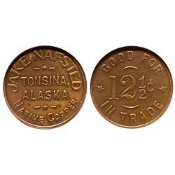 AK - Tonsina,c1903 - Nafsted, Jake Token