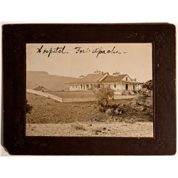 AZ - Fort Apache,Navajo County - 1880 - Hospital at Fort Apache Photograph