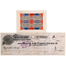 AZ - Ganado, Apache County - 1909 - J.L Hubbell Indian Trader Items