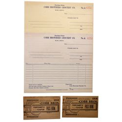AZ - Miami,Gila County - c1910 - Cobb Brothers Grocery Co. Items