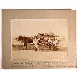 AZ - Naco,Cochise County - 1901 - Bisbee and Naco Stage Line Photograph