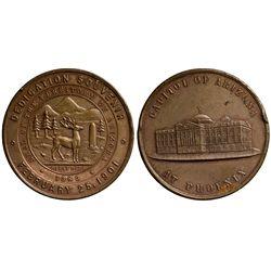 AZ - Phoenix,1901 - Phoenix Capital Dedication Slug Facsimile