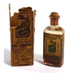 AZ - Phoenix,Rattlesnake Oil Liniment Bottle