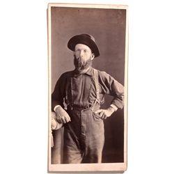 AZ - Prescott,Yavapai County - 1890 - Miner Photograph