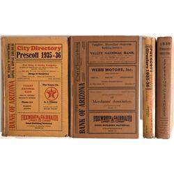 AZ - Prescott,Yavapai County - 1935-1936, 1939 - Prescott City Directories