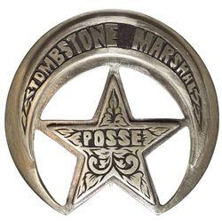 AZ - Tombstone,1997 - Tombstone Marshal Posse Badge