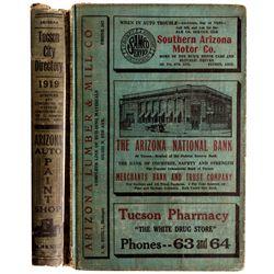 AZ - Tucson,Pima County - 1919 - 1919 Tucson City Directory