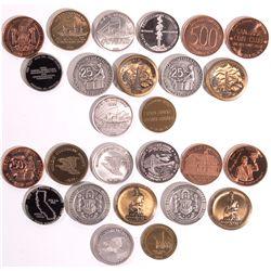 CA - California Coin Club Tokens