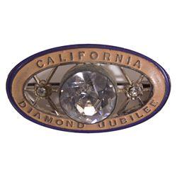 CA - 1925 - California Diamond Jubilee Pin