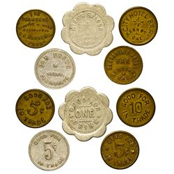 CA - California Tokens (Gold Country)