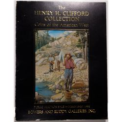 CA - 1982 - Clifford, Henry H. Collection: Coins of the American West Auction Catalog