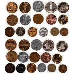CA - c1965 - Miscellaneous California Medals