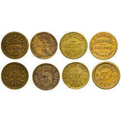 CA - Mother Lode Saloon Tokens