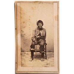 CA - c1875 - Photograph of Native American Man