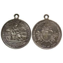 CA - August 1, 1891 - Swiss Colony of California Medal