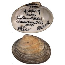 CA - Crescent City/County,1933 - Alakchick Clam Shell Good For 10c