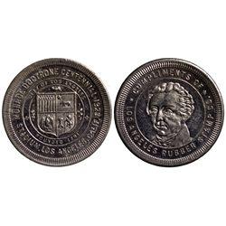 CA - Los Angeles,1923 - Los Angeles Rubber Stamp Token