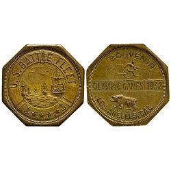CA - Los Angeles,Los Angeles County - 1932 - Olympic Games Token